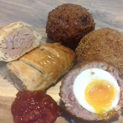 Scotch Eggs with Sausage Roll